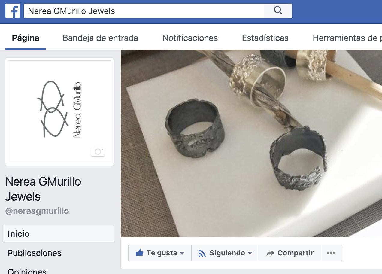 Facebook Nerea GMurillo Jewels