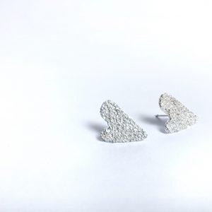 Pendientes Corazón de Volcán Nerea GMurillo Jewels
